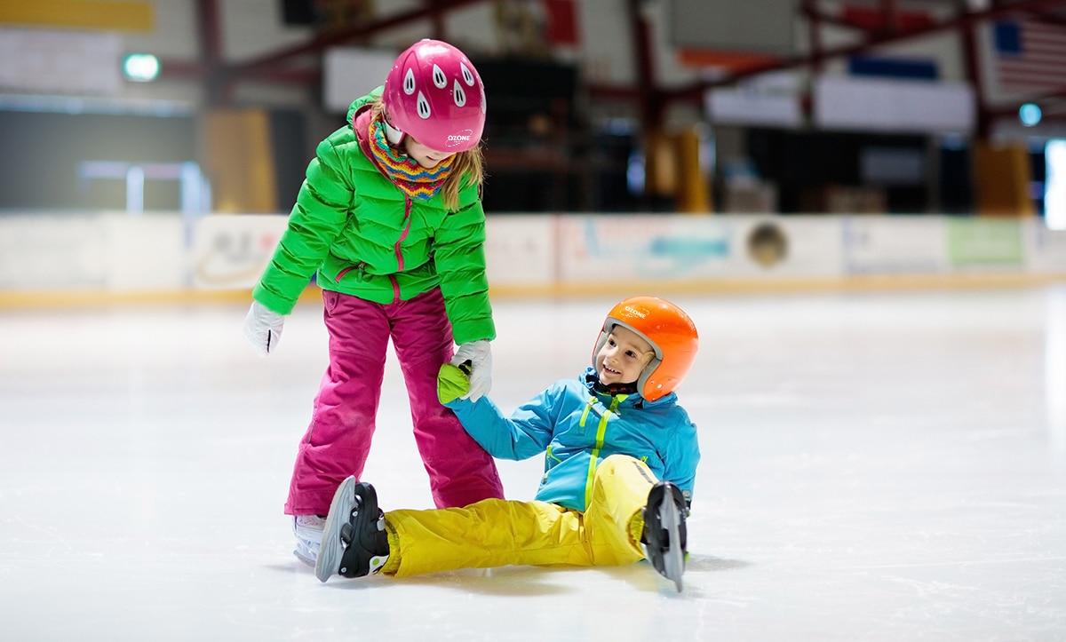 Ozone Ice Rink School Skating Lessons